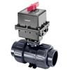 Elastomer Seated Electric Actuated Butterfly Valve
