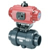 Elastomer Seated Pneumatic Actuated Butterfly Valve