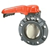 PVC Elastomer Seated Butterfly Valve Manual